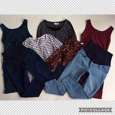 MATERNITY ~ WOMEN'S SIZE LARGE ~ HUGE CLOTHING LOT JEANS DRESSES TOPS BLOUSES