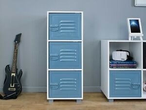 Grade A Bedroom Kids Furniture Wardrobe Bedside Cabinet Drawers Storage