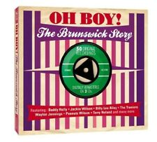 OH BOY! THE BRUNSWICK STORY (JACKE WILSON, BUDDY HOLLY, ROSIE,...) 2 CD NEUF