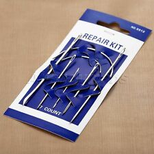 7Pcs Hand Repair Upholstery Carpet Leather Curved Sewing Needle Crochet Hook