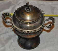 J. Rogers Silver Co. Victorian silver sugar Spooner.