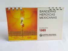 Vtg 1985 Loteria Nacional Para La Asistencia Publica Mexican Lottery Calendar