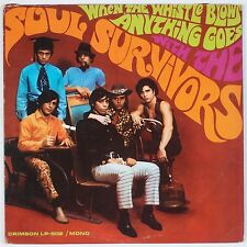 SOUL SURVIVORS: When the Whistle Blows Anything Goes CRIMSON Mono ORIG LP