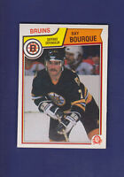 Ray Bourque HOF 1983-84 O-PEE-CHEE OPC Hockey #45 (NM+) Boston Bruins