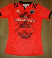 Munster Rugby Ireland Irish Orange Shirt Jersey Player Issue Adidas 8 New