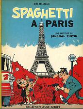 RARE EO DINO ATTANASIO + RENÉ GOSCINNY : SPAGHETTI À PARIS