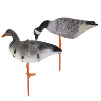2pcs/lot Durable Goose Hunting Shooting Decoys Garden Decors Lawn Ornaments