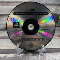 Crash Bandicoot 2 Cortex Strikes Back PS1 Playstation 1 Disc Only PAL UK T&W