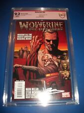 Wolverine #66 1st Old Man Logan CBCS 9.2 Signature Series Signed by Vines CGC SS