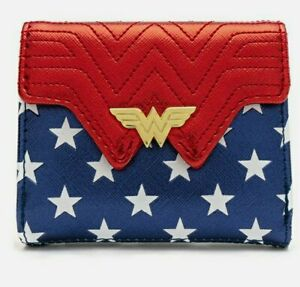 Loungefly Wonder Woman International Women's Day Flap Wallet NEW.