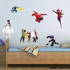 """One Big Hero 6 Wall Sticker Cartoon Character Removable - (36 """" X 12 """")"""