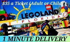 LEGOLAND FLORIDA TICKETS $35   A PROMO DISCOUNT SAVINGS TOOL
