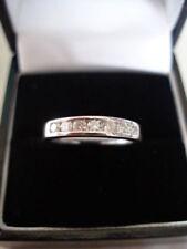 Eternity White Natural Fine Diamond Rings