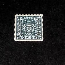 AUSTRIA #289, 1922, ART & SCIENCE SYMBOLS SINGLE, MH, NICE! LQQK!