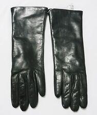 Portolano Dark Grey Nappa Leather/Cashmere Lined Ladies Gloves RN 6299 Size 7