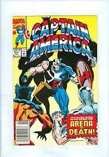 Captain America #411 (Newstand) VFNM Levins Bulanadi Falcon Batroc Diamondback