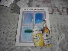 AK Krombacher Pils Der Winter wird schön ..........