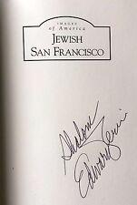 Images of America JEWISH SAN FRANCISCO Edward Zerin SIGNED