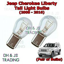 Jeep Liberty Tail Light Bulbs Pair of Rear Tail Light Bulb Cherokee (08-16)