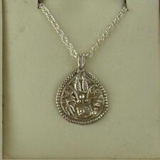 Antique Sterling Silver Hindu Amulet Necklace