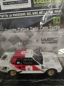 TOYOTA CELICA TWIN CAM TURBO #5 WALDEGAARD  WRC RALLY 1:24 V 34 HACHETTE **