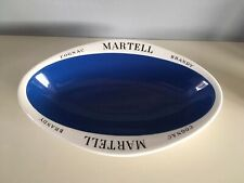 Vintage Martell Cognac Brandy/Pub Advertising Oval  Snack Dish/Bowl/Ashtray