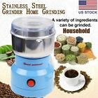 Electric Coffee Bean Grinder Nut Seed Herb Grind Spice Crusher Mill Blender