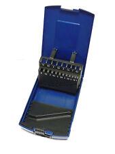 ABS-Leerbox für Spiralbohrer 1-10mm , 19-teilig , Sortimentbox , ABS-Box