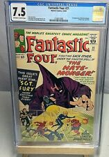 The Fantastic Four 21 CGC 7.5 (First Hate-monger; First Sgt.Fury Crossover)