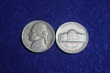 1947 Jefferson Nickel Circulated Condition Nice Coin