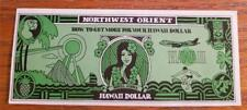Northwest Airlines Vintage 1975 Hawaii Dollar
