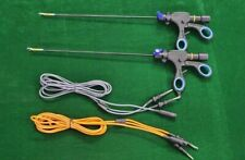 2pc Laparoscopic Bipolar Maryland With Cable 5mmx330mm Surgical Instruments