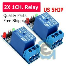 2PCS 1 Channel DC 5V Relay Switch Board Module for Arduino Raspberry Pi PIC ARM