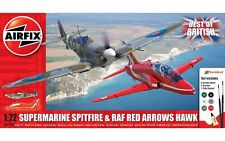 A50187 Airfix Best of British Spitfire and Hawker Plastic Model Plane Kit 1:72