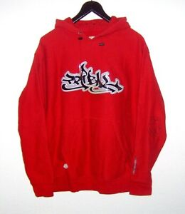 Vintage 90s *** TRIBAL STREETWEAR *** seltener Hoodie *** Big Logo