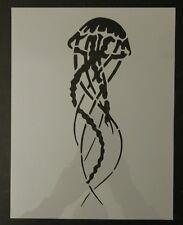 """Jellyfish Jelly Fish 8.5"""" x 11"""" Custom Stencil FAST FREE SHIPPING"""