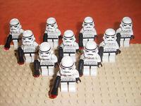 Lego Star Wars 10 Stormtrooper Storm Trooper Figuren Sammlung Paket TOP