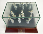 Meissen Peter Strang Angels Orchestra 6 points Doll with glass case