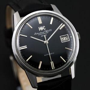 Vintage Rare IWC Schauffhausen BEYER CAL 8541B R810AD Auto Men`s  Swiss Watch