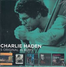 Charlie Haden / Haunted Heart, Night & the City, Nocturne u.a. (5 CDs,OVP, NEW)