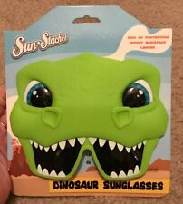 Sun Staches Dinosaur Sunglasses For Kids. 100% Uv Protection Impact Resistant