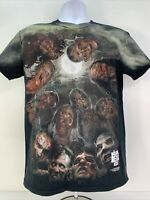 The Walking Dead AMC T-shirt Full Zombie Walker Print Men's Medium Rare OOP