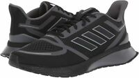 Adidas Men's Shoes EG3169 Fabric Low Top Lace Up Running, Black, Size 7.5 IlUK