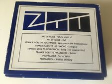 ZTT RARE 8 CD PROMO ONLY BOX SET Propaganda Frankie Goes Hollywood Art Of Noise