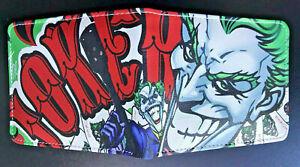 The Joker Wallet Purse DC Comics Superhero Villain Xbox PS4 The Batman Cartoon