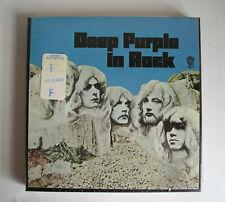 DEEP PURPLE IN ROCK REEL TO REEL original tape 1970 MINT STILL SEALED