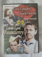 Love Laughs at Andy Hardy Little Lord Fauntleroy DVD 2005 Doub New Free Shipping
