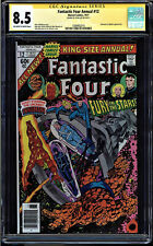 FANTASTIC FOUR ANNUAL #12 CGC 8.5 SS STAN LEE INHUMANS AND SPHINX APP 1508462014