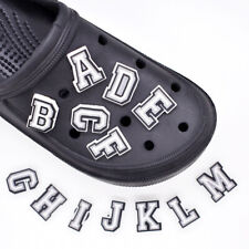 10Pcs English Alphabet Numbers Shoe Charms Sandals Buckle Accessories Kids -_cd