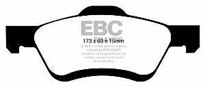 DP61709 EBC Greenstuff FRONT Brake Pads fit FORD MAZDA Maverick Tribute